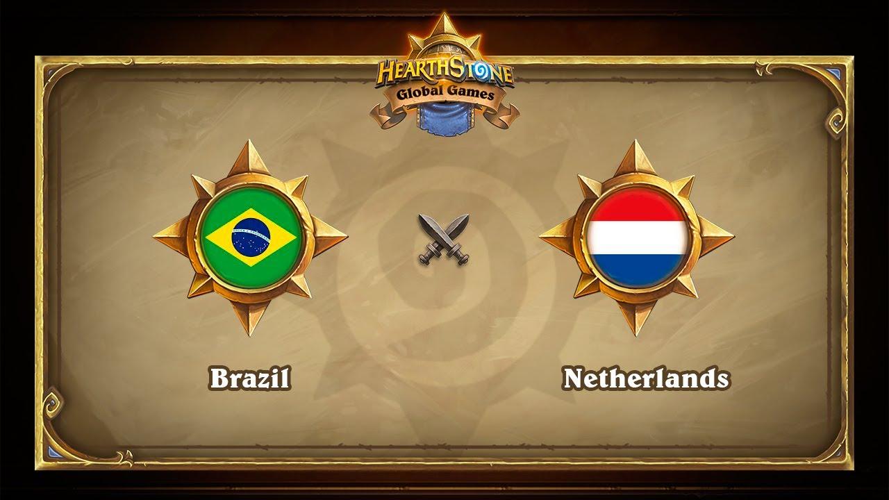MUST SEE! Бразилия vs Голландия, 1/8, Hearthstone Global Games Playoffs