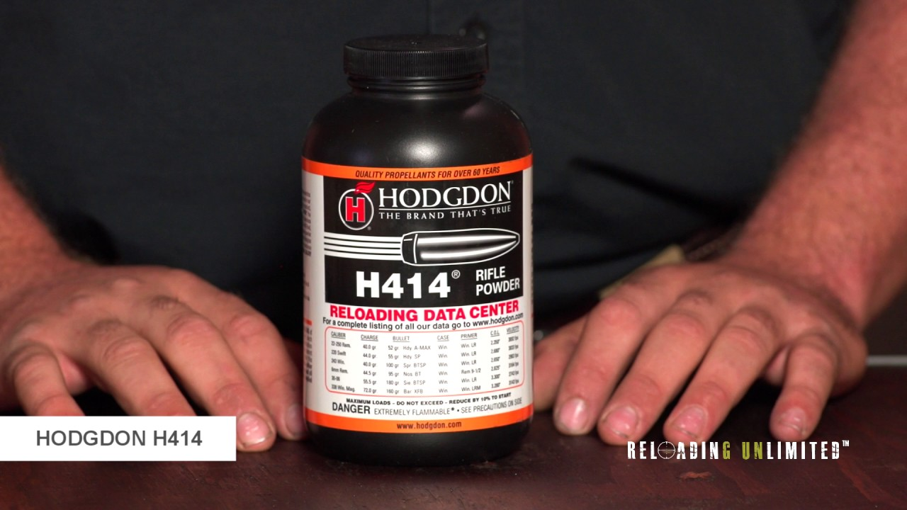 Hodgdon H414 At Reloading Unlimited
