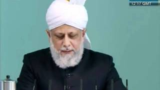 Urdu Friday Sermon 21 October 2011, Blessed and Successful European Tour_clip4.flv