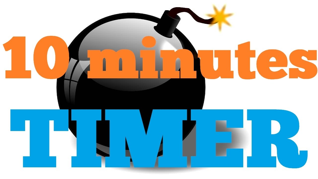 10 minutes countdown timer alarm clock youtube