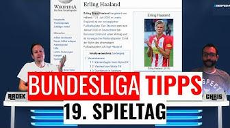 BUNDESLIGA VORHERSAGE - Unsere Prognosen und Wett-Tipps zum 19. Spieltag der Saison 2019/2020