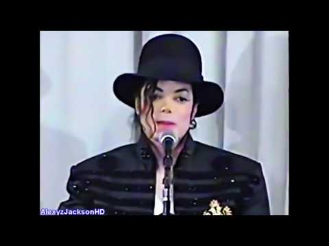 Michael Jackson - Visit in Tokyo Japan 1998, Press Conferenc