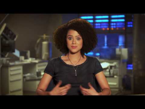 "The Fate of the Furious: Nathalie Emmanuel ""Ramsey"" Behind the Scenes Movie Interview"