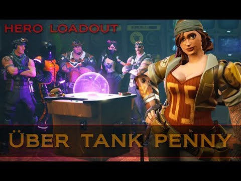 Fortnite ~ Hero Loadout [Constructor Melee Build - Über Tank Penny]