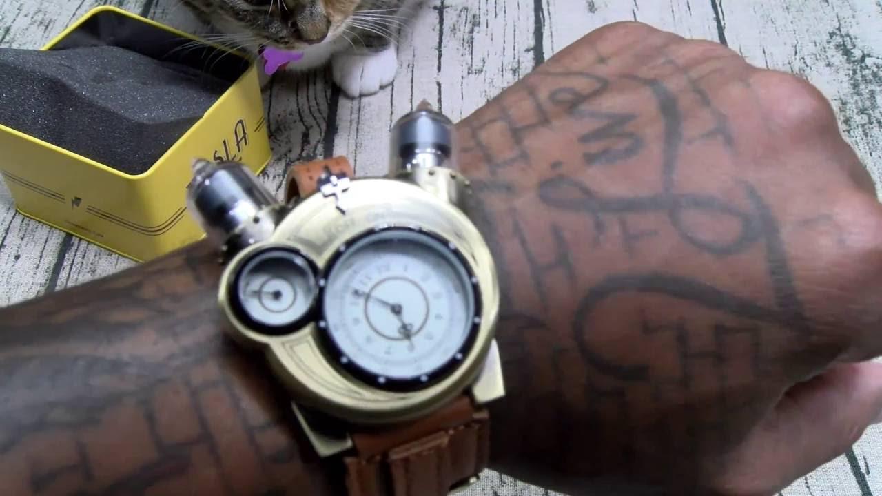 Ламповые часы на ин-18. Ламповые часы в стиле стимпанк представляют собой замечательный. Купить!. Научный экспонат