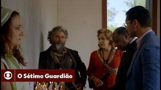 O Sétimo Guardião: capítulo 108, sábado, 16 de março, na Globo