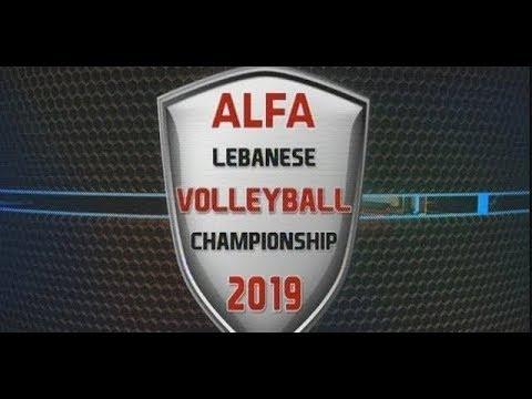 Alfa Lebanese Volleyball Championship 2019 - Mtein Vs. Anwar