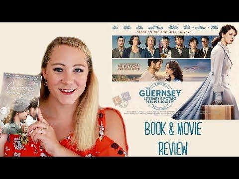 THE GUERNSEY LITERARY & POTATO PEEL PIE SOCIETY BOOK & MOVIE REVIEW