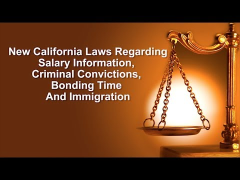 2018 California Employment Laws