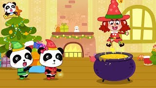 Baby Panda's Magic | Prepares Gifts for Friends | New Year Song | BabyBus