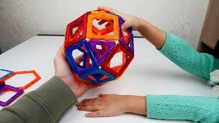 Магнитный 3D конструктор из магазина YM.RU