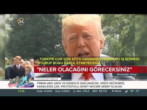 Trump'tan Türkiye'ye yeni tehdit: Neler olacağını göreceksiniz