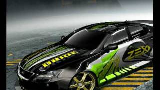 Need For Speed ProStreet customized cars
