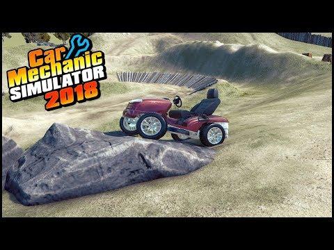 Car Mechanic Simulator 18 - BUILDING A MUD MOWER