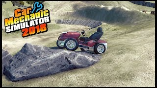 Car Mechanic Simulator 18 - MUD MOWER OFF-ROADING!!