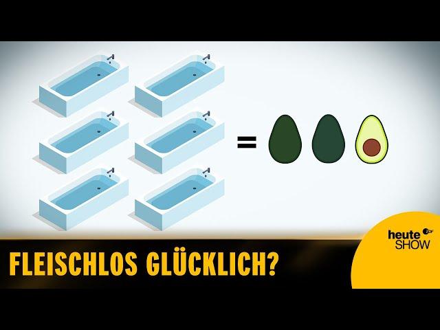 Avocados: der Dieselskandal unter den Früchten | Der Klugscheißer mit Martin Klempnow – heute-show