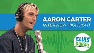 Aaron Carter Gets Emotional Over Nick's Silent Treatment | Elvis Duran Interview Highlight