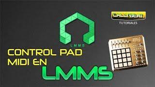 Como usar un controlador pad midi en LMMS