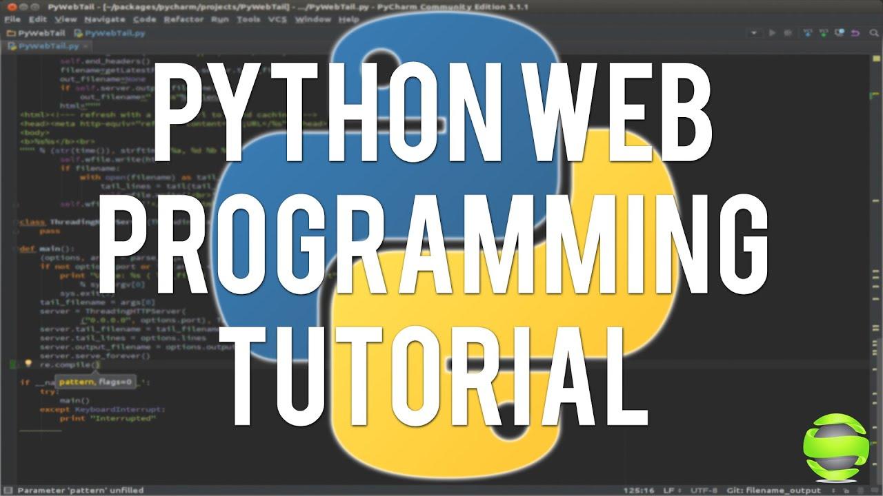 Web Programming with Python: URLLIB Module : Programming and