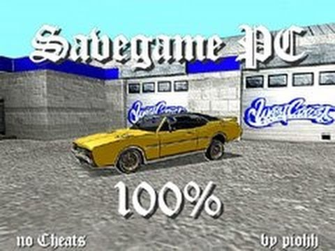 Gta san andreas 100% save game for android mod gtainside. Com.