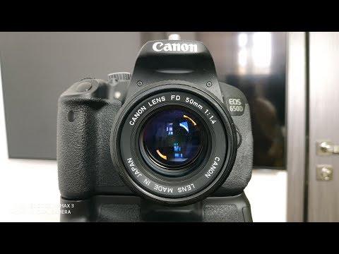 ОБЗОР Canon 650d ► спустя 5 лет!
