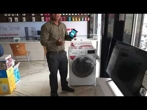 HOW TO USE NFC IN LG FRONT LOAD WASHING MACHINE