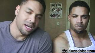 Muscle Tech Anabolic Halo Supplement Review @hodgetwins