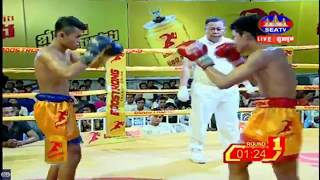 Lao Rachana Vs Phan Sophat, SeaTV Boxing, 27/May/2018 | Khmer Boxing Highlights