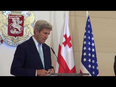 Kerry Reaffirms U.S. Support For Georgia's NATO Ambitions
