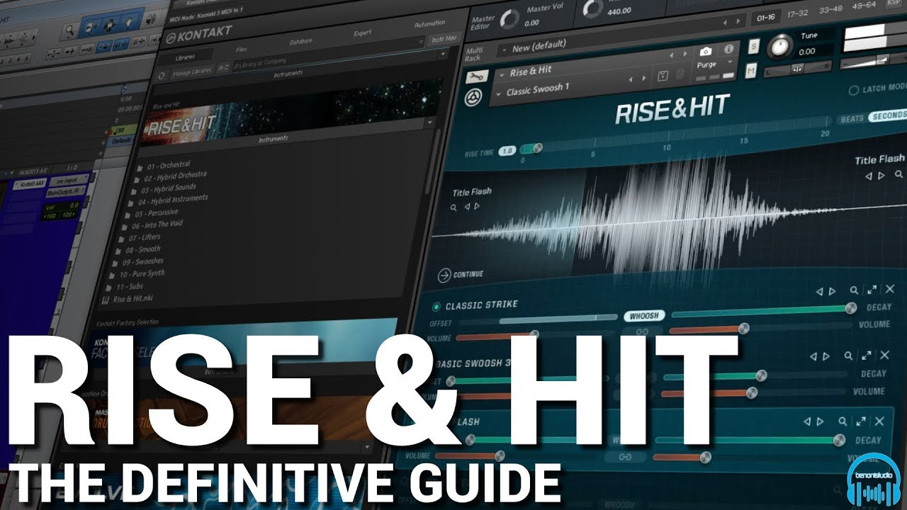 RISE & HIT for KONTAKT - The Definitive Guide - benonistudio