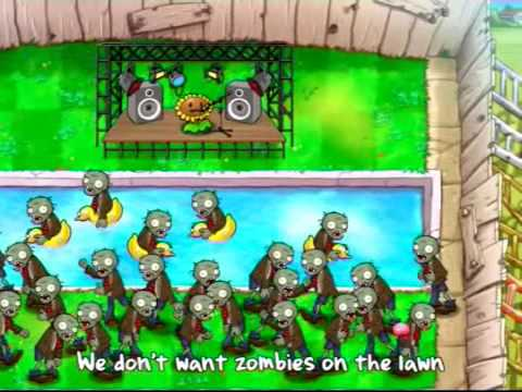 plants vs zombies musical video youtube