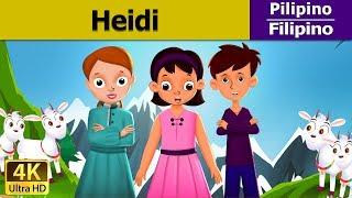 Heidi - Kuwentong Pambata - Mga Kuwentong Karikatura - 4K UHD - Filipino Fairy Tales