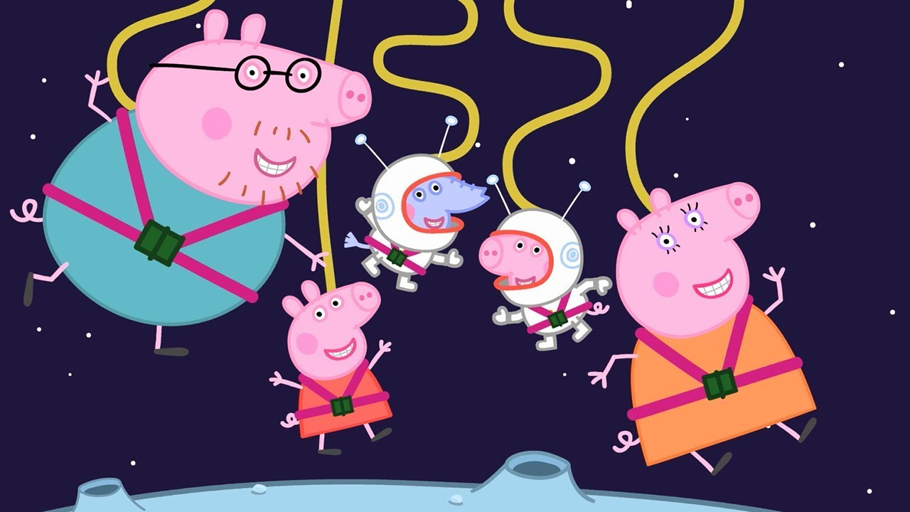 Peppa Pig English Episodes | Museum Fun with Peppa Pig! | 1 Hour | Cartoons for Children #166