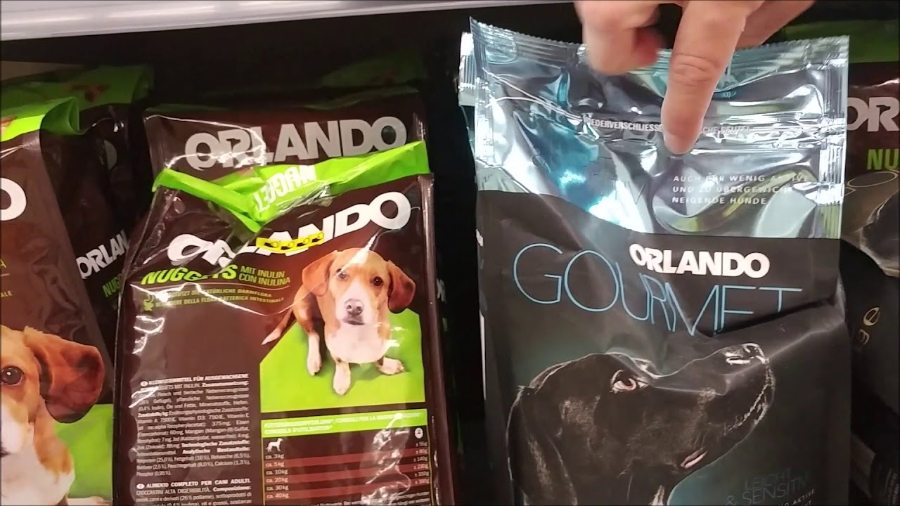 Orlando Hundetrockenfutter Von Lidl Youtube