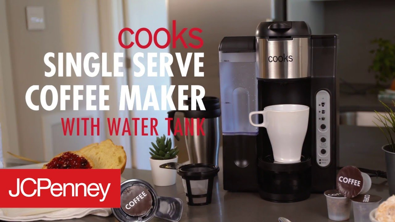 Cooks Single Serve Coffee Maker K Cup Coffee Machine Jcpenney