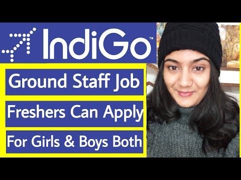 IndiGo Airlines Ground Staff Job Vacancy January 2019   Indian Airlines Job Recruitment