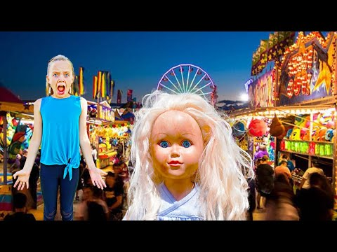 Mystery Doll Spies On Jazzy In Real Life!  Is It The Crazy Doll From The DollMaker?
