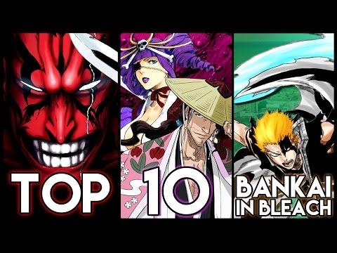 Top 10 Bankai In Bleach