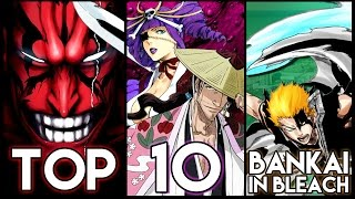 Top 10 Bankai In Bleach