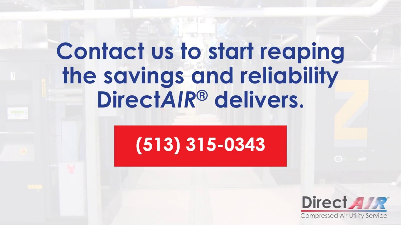 DirectAIR® Compressed Air Utility Service | Air Technologies®