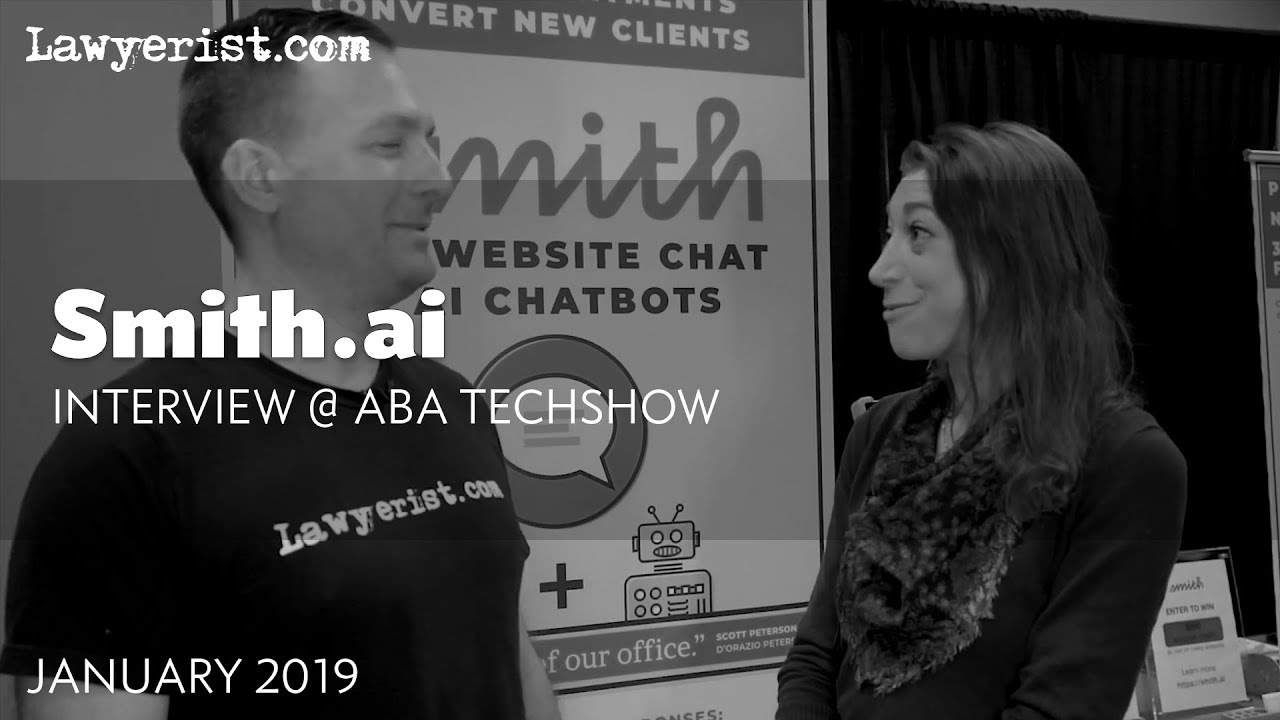 Smith.ai Interview | 2019 ABA TECHSHOW - YouTube