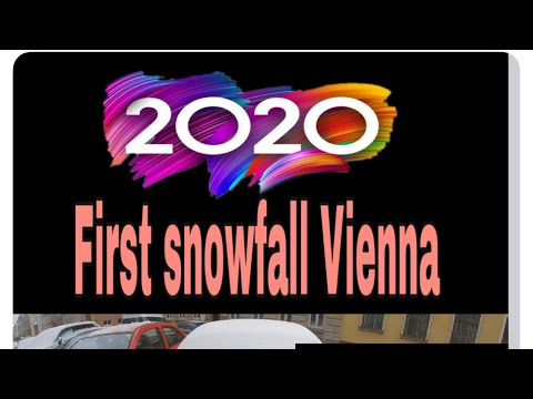 2020 first snow in Vienna(Austria)/tibetan vloggger/blogger