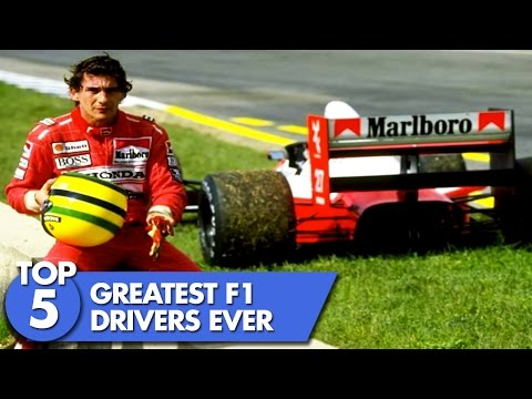 Top 5 Greatest F1 Drivers Of All Time