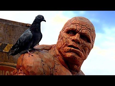 The Thing Saves   Bridge Scene ¦ Fantastic Four 2005 Movie Clip