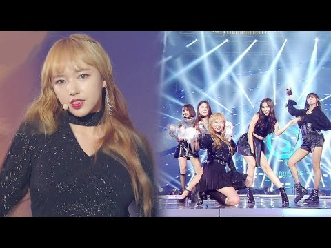 T-HE SUNNY GIRLS, 청순 소녀들의 깜짝 변신 'Taxi' @2016 SAF 가요대전 1부 20161226