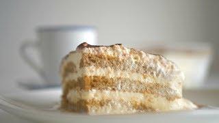 Десерт Тирамису. Будничный вариант. Без сырых яиц