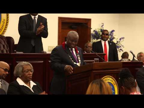Gov. Kenneth Mapp's 2015 State of the Territory Address