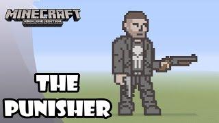 Minecraft: Pixel Art Tutorial and Showcase: THE PUNISHER