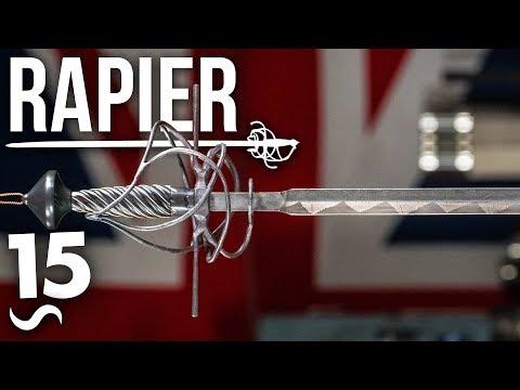 MAKING A BASKET HILT RAPIER SWORD!!!  PART 15 FINISHED!