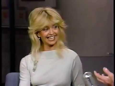 Goldie Hawn on Letterman 1987